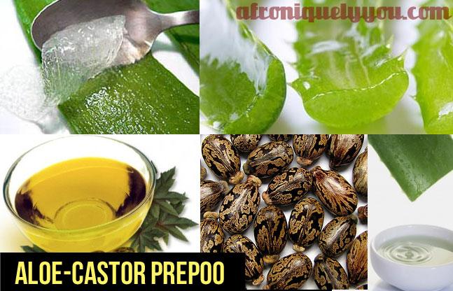 Aloe Vera Juice And Castor Oil For Hair