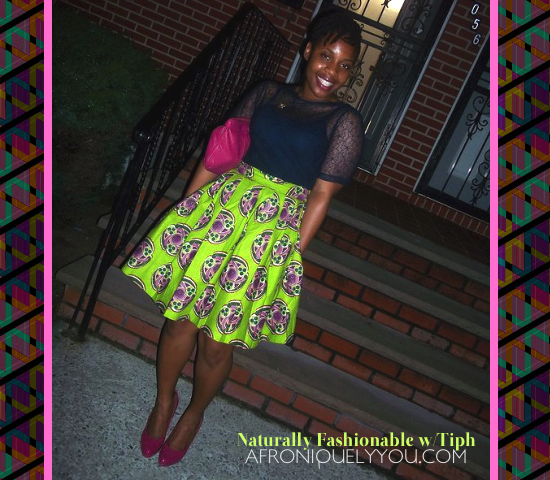 Tiphanie: Afroniquely You Naturally Fashionable feature