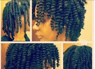 3 Strand Twist on Natural Hair