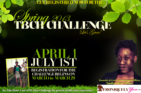 TBCH Challenge Spring 2013 | Afroniquely You