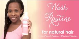luv naturals regimen