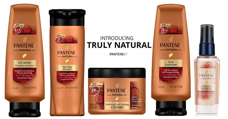 Afroniquely You Review Pantene ProV Truly Natural Collection