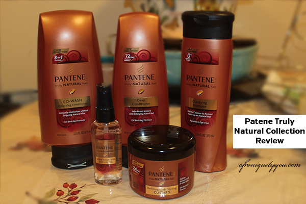 Pantene Truly Naturals Review