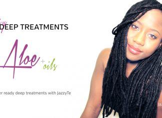 Natural Hair feature JazzyTe