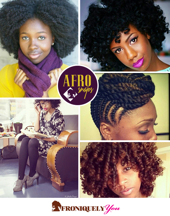 Afrosnaps Natural Hair styles afro inspiration