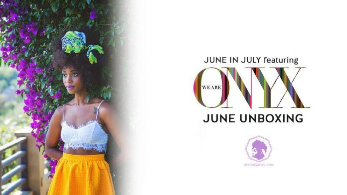 We Are Onyx June Box Review