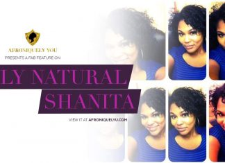 Shanita, Fly Natural featured on Afroniquely You