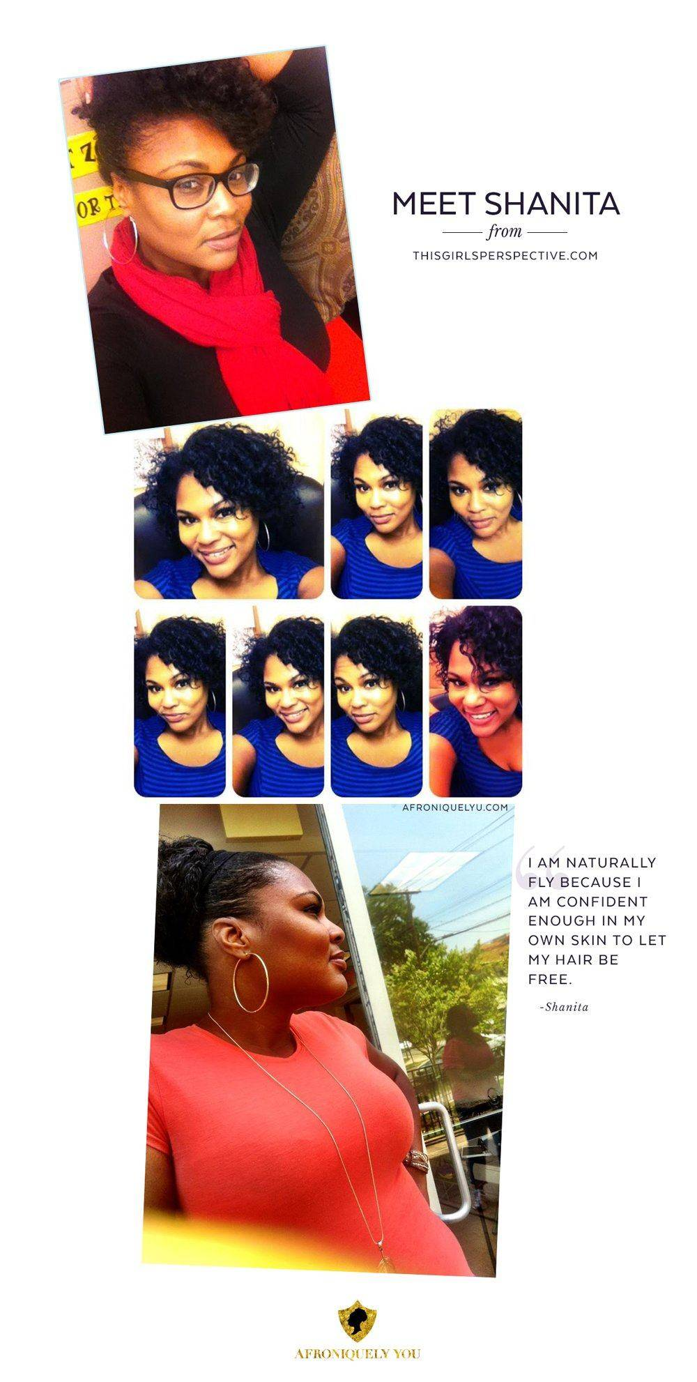 Shanita is a Fly Natural, featured on Afroniquely You