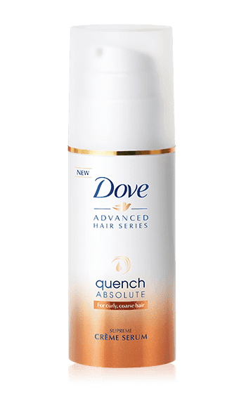 Dove Advanced Hair Series Quench Absolute Creme Serum is fantastic for dry hair! Via the Target Beauty Box